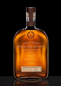Personalized Father's Day gifts: Custom engraved bottles of his favorite liquors, from bourbon to cognac to tequila