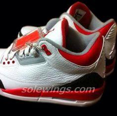 Air Jordan III Fire Red 2013 Retro