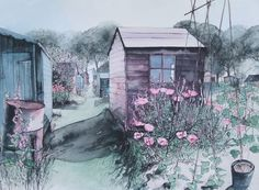 allotment art by Pamela Grace