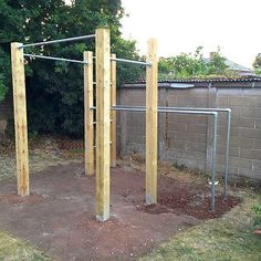 GARDEN CALISTHENICS, OUTDOOR GYM, PULL UP BARS & DIP BARS, STREET WORKOUT in Sporting Goods, Fitness, Running & Yoga, Strength Training & Weights | eBay