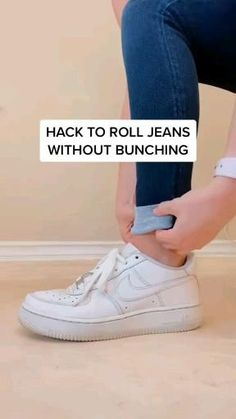 Diy Fashion Hacks, Fashion Tips, Teen Fashion, Fashion Outfits, Style Fashion, Muslim Fashion, Diy Clothes And Shoes, Rolled Jeans, Jugend Mode Outfits
