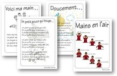 Comptines de la première période 1st Day Of School, Back To School, School Stuff, Childhood Education, Kids Education, French Poems, Montessori Math, Educational Crafts, Teaching French