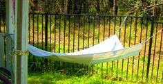 let the children play: hammocks at preschool