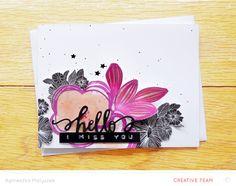 stamped card @studio_calico - Agnieszka Malyszek