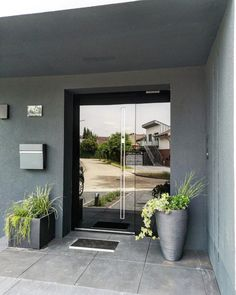 Choose One Touch technology and open your front doors with no effort. Never worry about losing your keys every again! Entrance Doors, Front Doors, Front Door Images, Door Design, Modern Design, Exterior, Windows, Effort, Keys