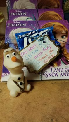 Disney Frozen Party Favor Idea