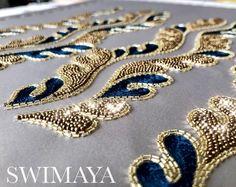 Swimaya Embroidery Fashion, Embroidery Art, Karuizawa, Needlework, Brooch, Photo And Video, Sewing, How To Make, Bags