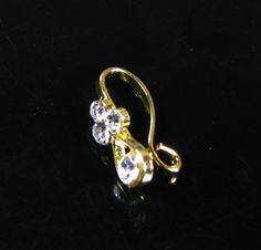 Studded non-pierced nose ring. $0.99
