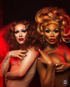Sasha Velour & Peppermint / Drag Queens / RuPaul's Drag Race
