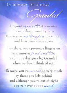 Rest In Paradise Grandpa Quotes