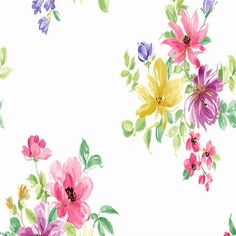 Purple and Pink Ali Floral