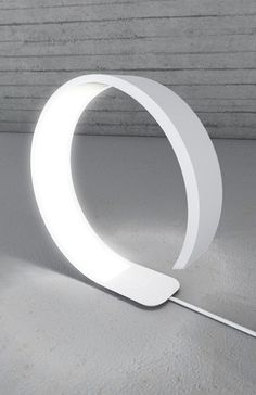 Pureness Corian lamp Designer: Simone Savini: Lighting is the key to creating comfortable spaces. Here is an unusual example.