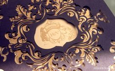 Rebecca and Varun | Luxury Wedding Invitations : Laser | Atelier Isabey