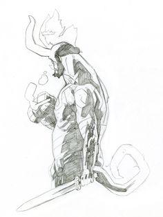 Hellboy by Kris Anka *