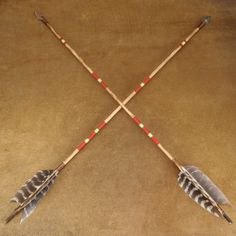 Hand Painted Aluminum Arrows