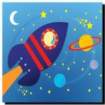 Space Rocket, Art For Kids, Ships, Symbols, Canvas, Children, Art For Toddlers, Tela, Young Children