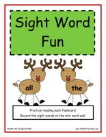 Kindergarten Sight Words Word Wall and other Word Walls Free printable!