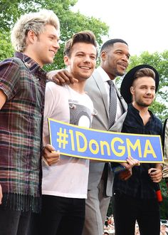 One Direction on GMA today (: (8/4/15)