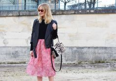 Blame It On Fashion >> Pink Feathers and Leopard