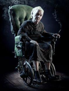 Title: Grandma Name: Arda Koyuncu Country: USA Software: Maya, Mudbox, Photoshop, VRay, ZBrush