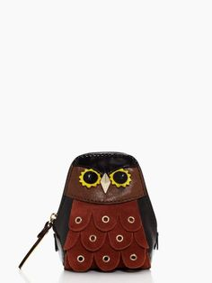 Cute little owl change purse, on sale at ksny for $39!
