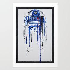 Buy A blue hope 2 Art Print by SMAFO. Worldwide shipping available at Society6.com. Just one of millions of high quality products available.