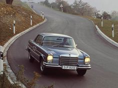 1961 #Mercedes Benz 280SE Coupe #W111 #MercedesBenzofHuntValley