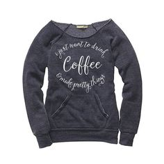 Just in time for fall, your favorite tee is now available in a super cozy sweatshirt! Our pullover is perfect for crafting and drinking coffee on those crisp fa