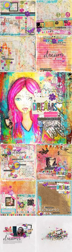 CT INSPIRATION using She Dreams In Color by Studio Basic
