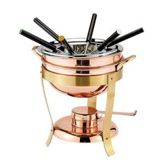 Copper Fondue Set now featured on Fab.