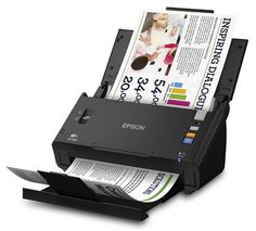 Epson WorkForce DS-560 Wireless Color Document Scanner for PC & MAC, Auto Document Feeder (ADF),  Duplex & WiFi (B11B221201)  Welcome to the next generation of efficiency for fast-paced businesses like yours featuring the WorkForce DS-560 document scanner. Wirelessly scan critical documents to smartphones, tablets, PCs or Mac. Scan directly to Cloud services from your PC or Mac. This powerful scanner offers everything you need to manage business documents. Save time and even save spa..