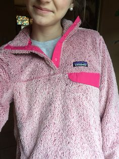 Patagonia pullover. I can't imagine how soft this must feel.