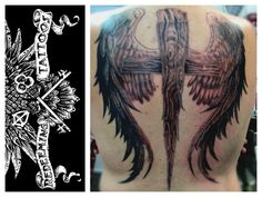 A back piece I did on a friend. Tattoo was done by artist and shop owner Floyd Guinn.
