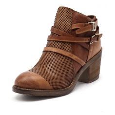 VENUS ST TAN LEATHER by MARIA ROSSI - at Styletread