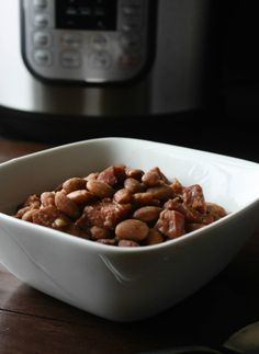 Instant Pot Pinto Beans and Ham Recipe. Make this classic comfort food recipe in half the time in your pressure cooker.