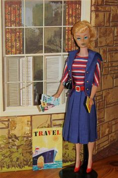 "1965 - Vintage Barbie outfit ""Aboard Ship,"" #1631"