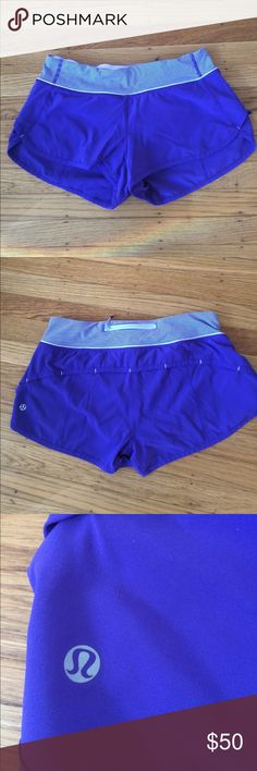 Lululemon Speed Shorts Purple Sz 6 Beautiful bruised berry speeds in excellent used condition. Re-poshing because seller said they were a size 4 but size dot (last pic) clearly shows these are a size 6 :( Sad for me, but good for you if they are your size! Make me an offer or bundle and save! Check out my other lulu listings :) lululemon athletica Shorts