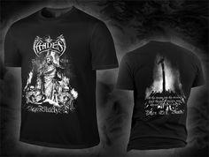 "HADES ALMIGHTY ""pyre era, black!"", black T-Shirt"