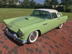 1956 FORD T-BIRD..Re-pin...Brought to you by #HouseofInsurance for #CarInsurance #EugeneOregon.