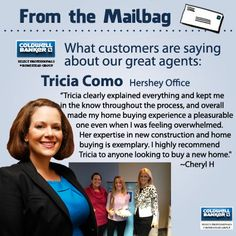 Great client review Tricia Como!