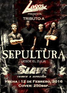 "Lasos Rock presenta: ""SLAVE – Tributo a Sepultura"" http://crestametalica.com/events/lasos-rock-presenta-slave-tributo-a-sepultura/ vía @crestametalica"
