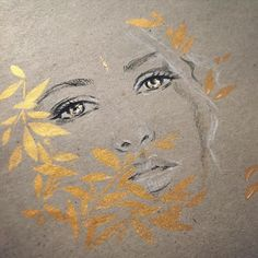 Shimmer . Beautiful reference via @sallymustang  it's nice to just play. #art #sketch #eyes #drawing #gold #charcoal #pastel #artemuse #lucyyuart #sallymustang by artemuse