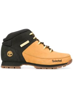 f59097e52b TIMBERLAND TIMBERLAND TWO-TONE ANKLE BOOTS - BROWN.  timberland  shoes