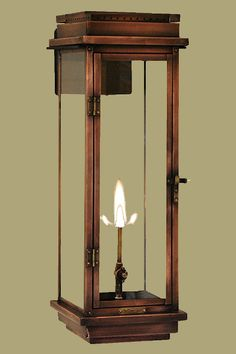 Contempo Copper Gas Lantern/Coppersmith Lanterns