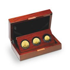 The Britannia 2014 Premium Three-Coin Gold Proof Set.  £1,175.00.  Contains three Britannia coins in 999.9 fine gold.  100 sets finished to flawless Proof standard.  Includes a booklet that reveals the stories that surround Britannia.  Over 50% sold!