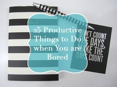 I am so accustomed to being busy and having a never ending to do list that when I do get down time, my mind blanks on how I should be spending it. Inevitably, I end up wasting time planning out wha...