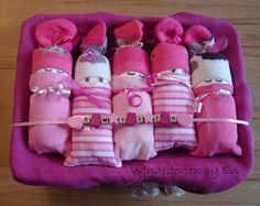 Windelbabys 'Chica', supersüsse Windeltorte! von Windeltorten By Evi auf DaWanda.com