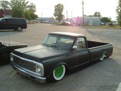 Chevrolet Black C10 truck