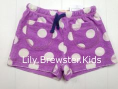 $19.99 Best Summer Shorts NWT Mini Boden Toweling Shorts Spotty Polka Dot Size 3 3T NEW