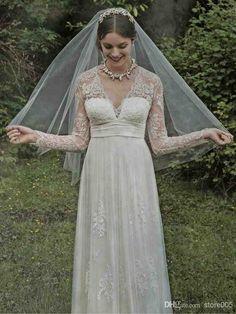 Informal Wedding Dresses With Sleeves
